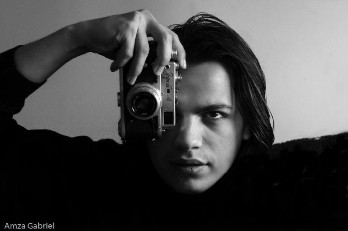 Autoportret Amza Gabriel, 2008